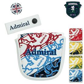 アドミラル ユニセックス 2019年春夏モデル ヘッドカバー マグネット ホルダー付 マレット パター Admiral GOLF【19】ゴルフ admg9sh6