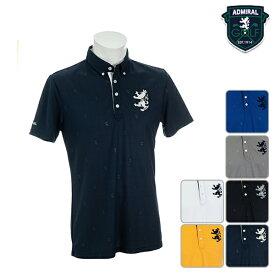 【40%OFF】アドミラルゴルフ メンズ 2019年春夏モデル ポロシャツ エンボス Admiral GOLF 【19】M L LL ゴルフ adma936