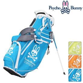 サイコバニー ユニセックス メンズ レディース キャディバッグ キャディーバッグ 軽量 Psycho Bunny【19】9型 ゴルフ pbmg8sc3
