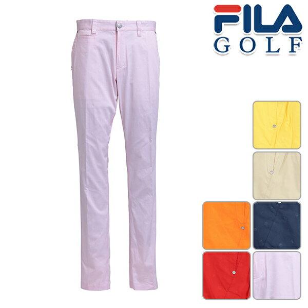 フィラゴルフ メンズ 2019年春夏モデル ノータック ロング ストレート テーパード パンツ FILA GOLF 【19】 ゴルフ 749301