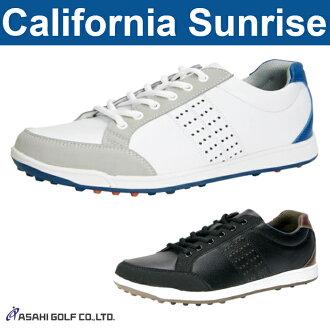 Morning sun golf - Asahi golf - California Sunrise California sunrise MENS (men's) spikesless shoes