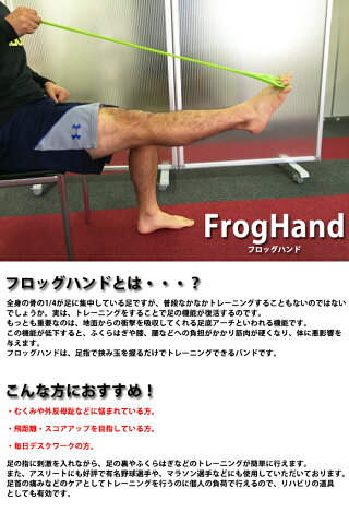 FITFINGERTRAINING-フィットフィンガートレーニング-FrogHand-フロッグハンド-フィンガートレーニング(ソフトタイプ・ハードタイプ)【トレーニング用品】
