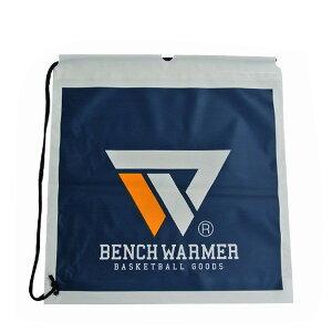 【1点限りネコポス対応】ベンチウォーマー BENCH WARMER ひも付き ビニールバッグ BW006 バスケ スポーツ