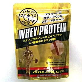 ゴールドジム ホエイプロテイン 360g カフェオレ風味 F5736 送料無料 ホエイペプチド 乳清たんぱく質 動物性たんぱく質 WheyProtein WheyPeptide MilkCoffeeFlavor GOLD's GYM