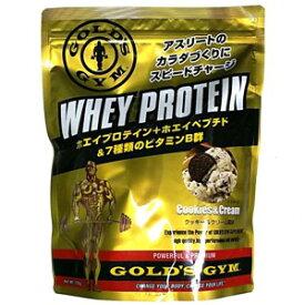 ゴールドジム GOLD's GYM ホエイプロテイン クッキー クリーム 風味 送料無料 1,500g F5815