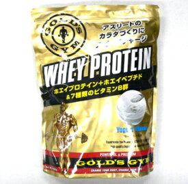 ゴールドジム GOLD's GYM ヨーグルト プロテイン ホエイ 送料無料 1,500g ヨーグルト風味 ホエイプロテイン 1.5 kg 粉末 食間 食後 運動後 トレーニングホエイたんぱく国産 高たんぱく F5315