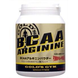 ゴールドジム GOLD's GYM BCAA アルギニン パウダー 250g アミノ酸 アミノ BCAAパウダー BCAA 国産 レモンフレーバー レモン 筋肉 回復 サポート 送料無料