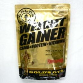 ゴールドジム GOLD's GYM ウェイトアップ ウェイトゲイナー チョコ チョコレート風味 送料無料 1kg F8500 体重アップ 炭水化物 エネルギー カーボ WeightGainer WeightUp