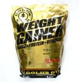 ゴールドジム GOLD's GYM ウェイトアップ 体重アップ 体作り 送料無料 3kg チョコ チョコレート風味 ウェイトゲイナー F8530