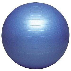 HATAS バランスボールセイフティー 55cm ポンプ無し ブルー 体幹 腹筋 背中 背筋 腰 美姿勢 筋トレ 筋肉 筋力トレーニング インナーマッスル ダイエット 減量 シェイプアップ メタボ 要介護予防