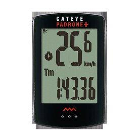 キャットアイ CC-PA110W パドローネプラス 自転車 ロードバイク クロスバイク サイクルコンピューター サイコン 通学 電池 ハンドル フロントフォーク 部品 スピードメーター 時計 距離 脱着式 生活防水 バックライト CATEYE 自転車