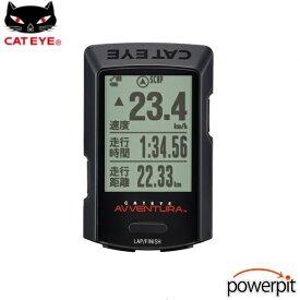 キャットアイ CC-GPS200 アベントゥーラ GPSサイクルコンピューター サイコン 自転車 サイクリング 日本語対応 USB充電式 約80時間 長寿命 スピードメーター 距離 ケイデンス 心拍 AVVENTURA CATEYE 自転車