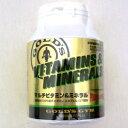 ゴールドジム GOLD's GYM マルチビタミン ミネラル 送料無料 360粒 F2520 ビタミン 食後 自然素材 サプリメント 栄養…