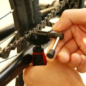 自転車用チェーンカッター スプリッター チェーン交換や編成替えに 8〜10速対応 軽量コンパクト 樹脂製グリップ ロード MTB クロスバイク メンテナンス工具 万力 JS-CHCC8910 送料無料
