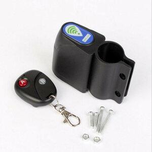 自転車盗難防止警告アラーム 設置簡単 振動アラーム 盗難防止ロック セキュリティアラーム JL-ALM99 送料無料