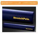【エクササイズDVD付正規品】人気!LPN製 ストレッチポール EX (Stretch Pole EX)カラー:ネイビー[体幹トレーニング][エクササイズポール...