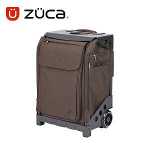【保証付き正規品】ZUCA FLYER BROWN-LUX Travel ズーカ フライヤー ブラウンラックス トラベル【軽量】【頑丈】【ビジネス】【 ポーチ&トラベルカバー付き 】【 旅行】【 キャリーバッグ スーツ