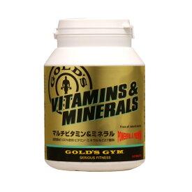 GOLD'S GYM ゴールドジム マルチビタミン&ミネラル (180粒)