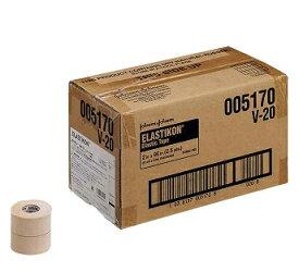 ジョンソン&ジョンソンエラスティコン(ELASTIKON) 伸縮性粘着テープ・ハードタイプ50mm(24本入り)