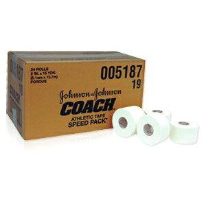 ジョンソン&ジョンソン非伸縮テーピング・コーチ(COACH) 50mm (24本入り)