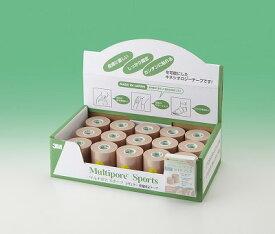 3M マルチポアスポーツ レギュラー伸縮固定テープ(バルクパック) 品番:2743B-75 2743B75サイズ(幅×長さ):75mm×5m/15巻