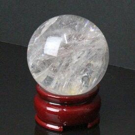 【49mm】 水晶玉 天然|クリスタル クォーツ すいしょう 石英 Crystal Quartz【Ball 原石 Gemstone ball 丸玉 Circle 球体 置物 大玉 ルース】メンズ レディース 一点物アイテム 水晶玉