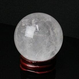 【45mm】 水晶玉 天然|水晶 Crystal クォーツ すいしょう クリスタル Quartz【原石 Gemstone 丸玉 Circle Ball Crystal ball 球体 置物 大玉 ルース】メンズ Men's レディース Ladies 天然石 海外直輸入価格 水晶玉