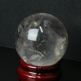 【48mm】 水晶玉 天然|クリスタル 石英 水晶 Crystal クォーツ すいしょう Quartz【Ball 原石 Gemstone Crystal ball 丸玉 Circle 球体 置物 大玉 ルース】メンズ Men's レディース Ladies パワーストーン 水晶玉