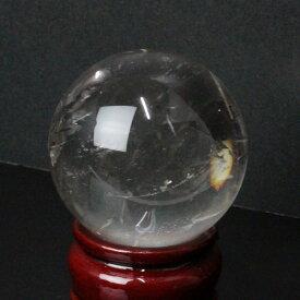 【52mm】 天然 水晶玉|水晶 Crystal クォーツ すいしょう クリスタル Quartz【Ball 原石 Gemstone ball 丸玉 Circle 球体 置物 大玉 ルース】メンズ Men's レディース Ladies 天然石 海外直輸入価格 水晶玉