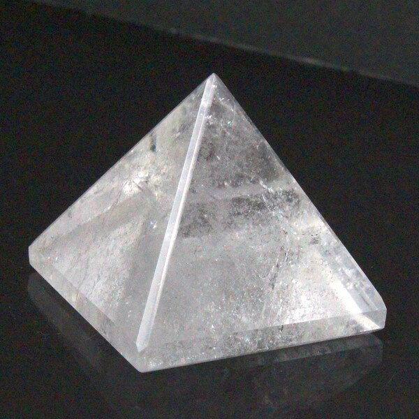 水晶 ピラミッド 石英 水晶 Crystal クリスタル クォーツ Quartz【Cluster 原石 ピラミッド クラスター Pyramid 石 Stone】メンズ レディース 一点物アイテム 水晶
