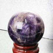 【55mm玉】アメジスト丸玉|アメシスト紫水晶Amethystアメジスト【丸玉CircleBall原石Gemstone球体ルース】メンズレディース一点物アイテム天然石アメジスト