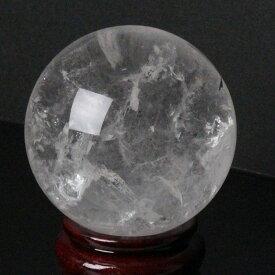 【65mm】天然 水晶玉|クリスタル クォーツ すいしょう Crystal Quartz 水晶【丸玉 Circle Ball 原石 Gemstone 水晶玉 Crystal ball Sphere 球体 置物 大玉】メンズ レディース 限定 一点物 パワーストーン 天然