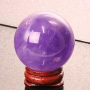 【43mm】アメジスト丸玉|紫水晶Amethystアメシストアメジスト【原石球体水晶玉CrystalballルースGemstoneCircleBall】メンズレディース一点物パワーストーンアメジスト