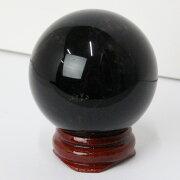 【44mm】モリオン丸玉|黒水晶Morionモリオン【Crystalball球体ルース丸玉Ball原石Gemstone水晶玉】メンズレディース一点物パワーストーンモリオン
