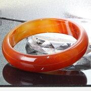 【女性用フリーサイズ】サードオニキスバングル|Agateメノウ赤縞瑪瑙サードオニキス【バングルブレスレットBangle腕輪Bracelet】メンズレディース一点物パワーストーンサードオニキス