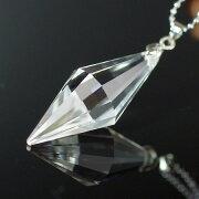 水晶ペンダント[A4192]【ペンデュラム・ペンダント・ネックレス】水晶・クォーツ|ペンダント(ネックレス):水晶|ペンダントネックレスに|パワーストーン・天然石水晶