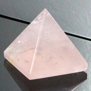 ローズクォーツ ピラミッド|紅水晶 ピンク Rose Quartz ローズクォーツ 原石 ピラミド Pyramid インテリア クラスター 浄化 ピラミッド 石 置物|メンズ レディース パワーストーン 天然石 海外
