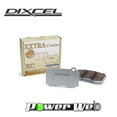 [345098] DIXCEL EC ブレーキパッド リア用 ディアマンテワゴン F07W 92/10〜96/10 3000