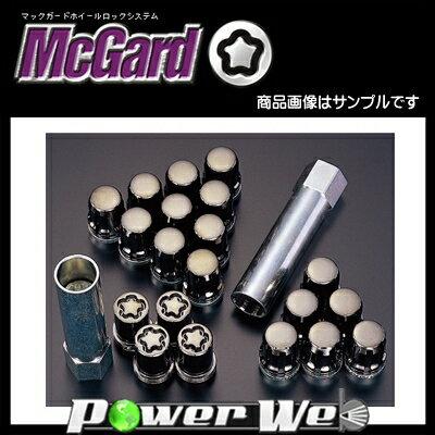 McGard (マックガード) スプラインドライブ インストレーションキット 20個SET フクロタイプ (ブラック) テーパー M12×P1.5 21 品番:MCG-65557BK