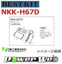 [NKK-H67D] NITTO オーディオ取付キット ホンダ アクティ トラック HA8/HA9 H21/12以降 AM/FMチューナー付CDプレーヤー付車