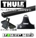 [754/7122/1296] THULE ベースキャリアセット トヨタ ウィッシュ ZNE10G,ZNE14G H15/1〜 5ドア