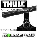 [951/7125] THULE ベースキャリアセット トヨタ ハイエース・レジアスエース KDH200,201,205,206V,TRH200V H16/8〜 ロ…