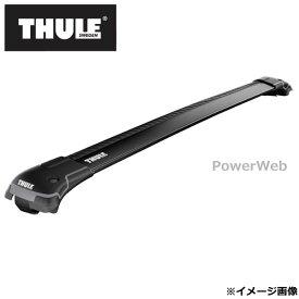 THULE/スーリー ウイングバーエッジ(ブラック):9583B トヨタ ランドクルーザー・プラド ルーフレール付 年式:H21/9〜 形式:J150W,J151W ベースキャリアセット