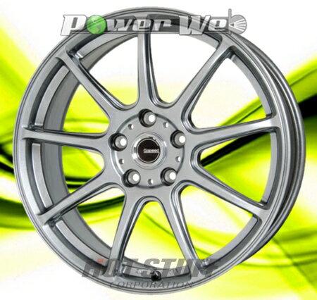 [ホイールのみ単品4本セット] HOT STUFF / G.speed G01 (MSL) 18インチ×8.5J PCD:114.3 穴数:5 インセット:55