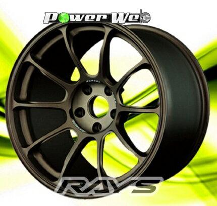 [ホイールのみ単品4本セット] RAYS / VOLK RACING ZE40 (BR) 17インチ×7.0J PCD:100 穴数:4 インセット:42