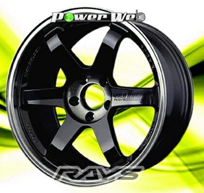 [ホイールのみ単品4本セット]RAYS / VOLK RACING TE37SL (PWB) 18インチ×9.5J PCD:100 穴数:5 インセット:45