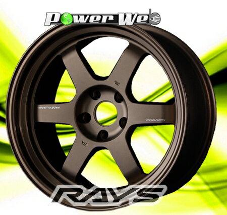 [ホイールのみ単品4本セット] RAYS / VOLK RACING TE37V MARK-II (BR) 18インチ×9.5J PCD:114.3 穴数:5 インセット:-14