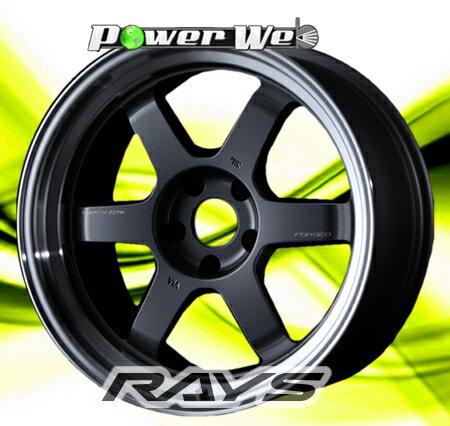 [ホイールのみ単品4本セット] RAYS / VOLK RACING TE37V MARK-II (MF) 18インチ×10.5J PCD:114.3 穴数:5 インセット:15