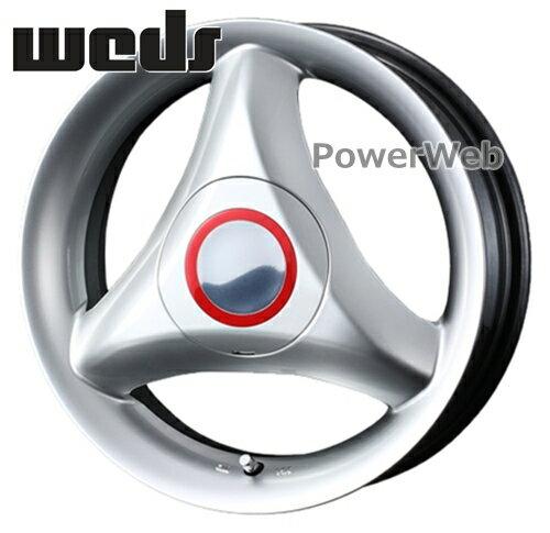 [ホイールのみ単品4本セット] Weds / RECREO S3 (HSL) 13インチ×4.0J PCD:100 穴数:4 インセット:44
