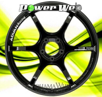 [ホイールのみ単品4本セット] YOKOHAMA WHEEL / ADVAN Racing RGIII (RGB) 19インチ×10.5J PCD:114.3 穴数:5 インセット:25